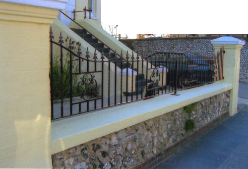 Balustrade (railings) and Handrails